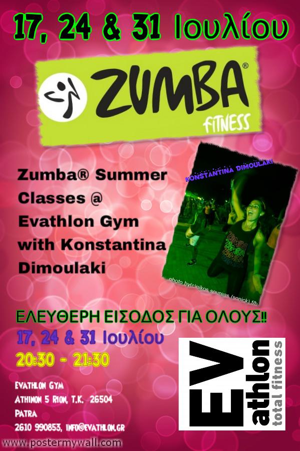 Zumba Evathlon